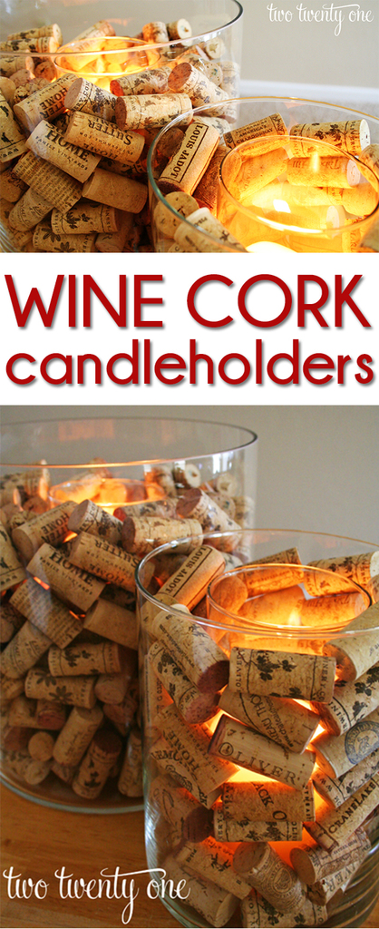 Wine Cork Candle Holder Two Twenty One