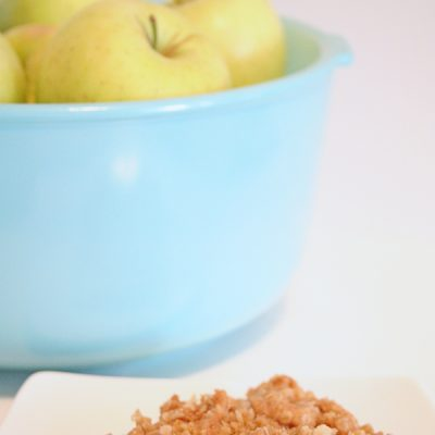 Fall Favorite: Apple Crisp