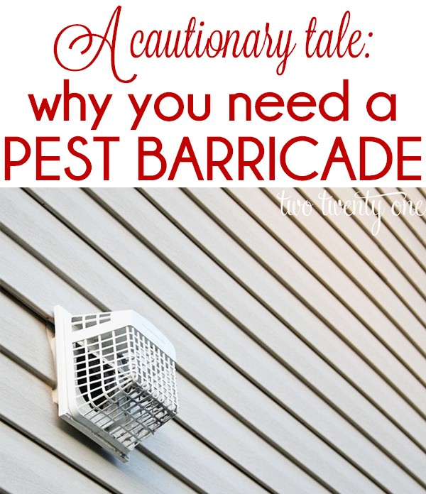 How a $5 pest barricade can save you $125+!