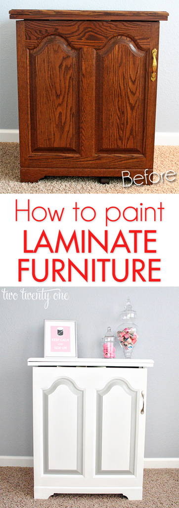Sewing Cabinet Makeover Painting Furniture Two Twenty e