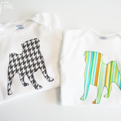 DIY Baby Onesies and Burp Cloths
