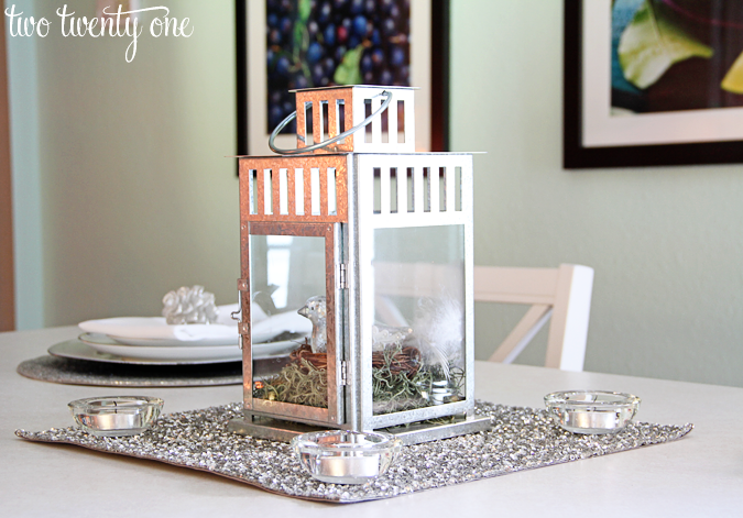 I ... & Simple Holiday Table Setting - Two Twenty One