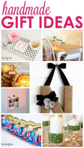 GREAT inexpensive handmade gift ideas!
