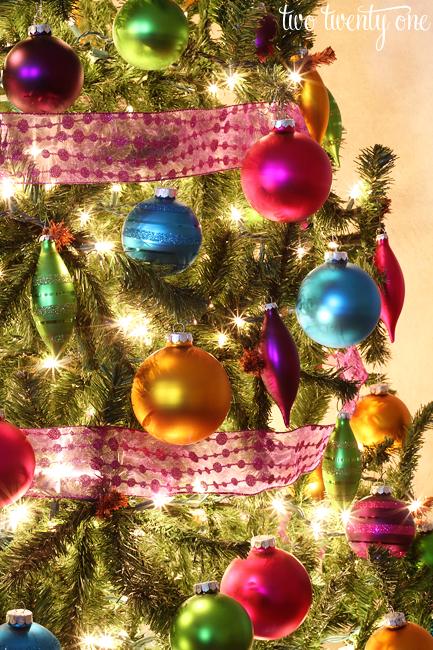 jewel tone christmas ornaments 1