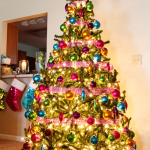 jewel tone christmas tree 1