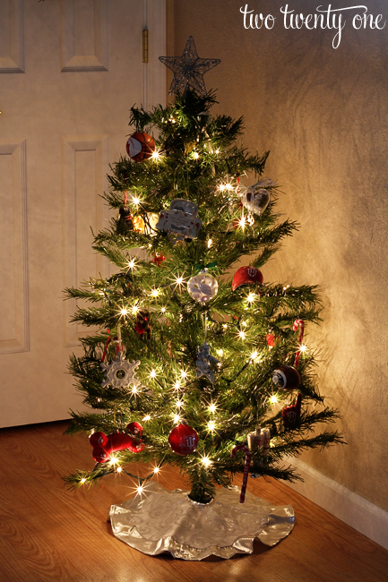 sentimental christmas tree