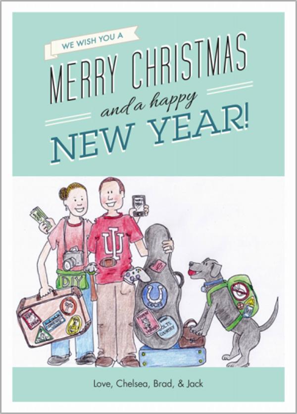 two twenty one christmas card 2012