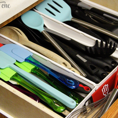 Organizing the Kitchen Utensil Drawer