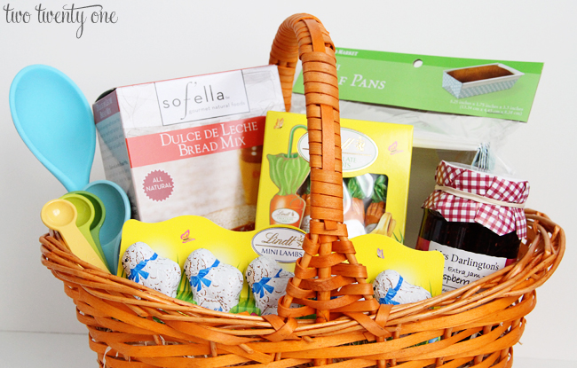 Easter gift giving with world market two twenty one easter gift basket negle Image collections