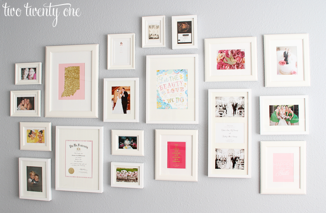 Wall Pictures For Home home office gallery wall {decorating ideas} - two twenty one