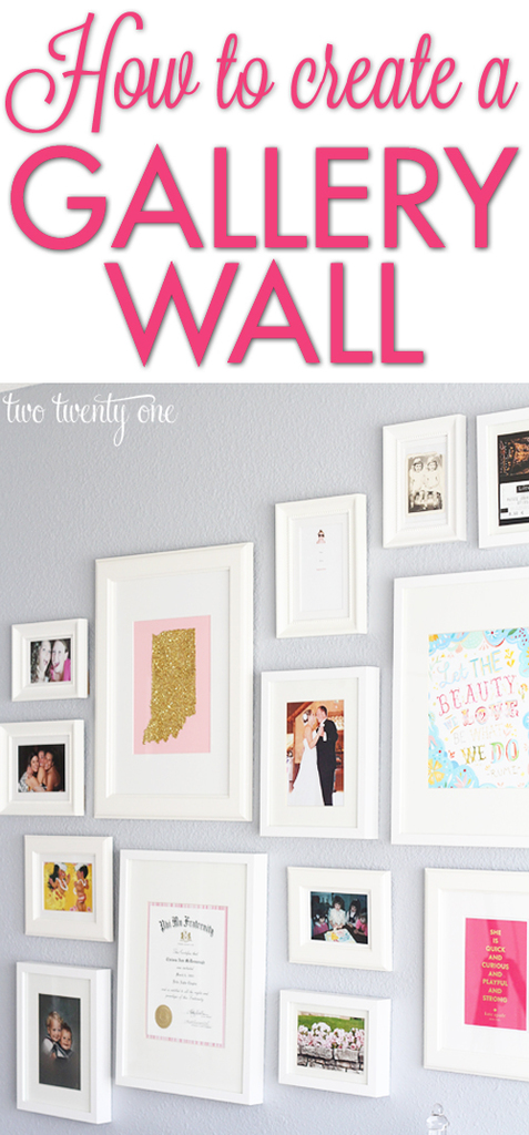 how to create a gallery wall 2