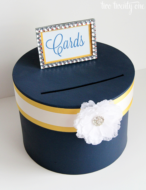 DIY Wedding Card Box - Two Twenty One