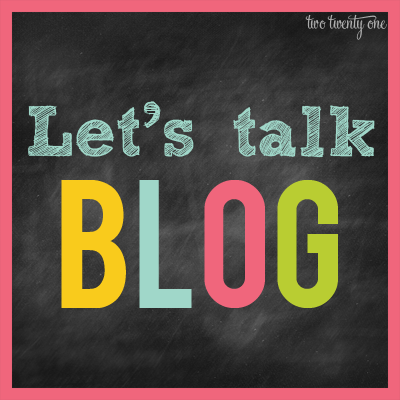 lets talk blog