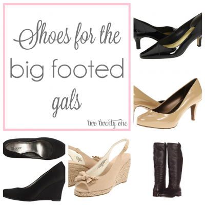 For All The Big Footed Gals