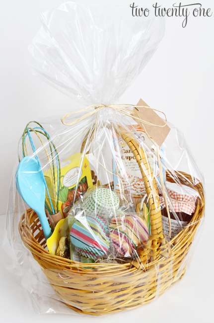 Easter gift giving with world market two twenty one world market easter gift basket negle Choice Image