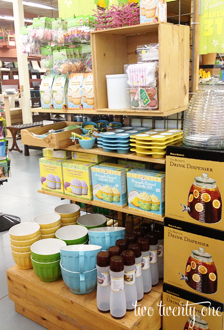 world market spring baking items