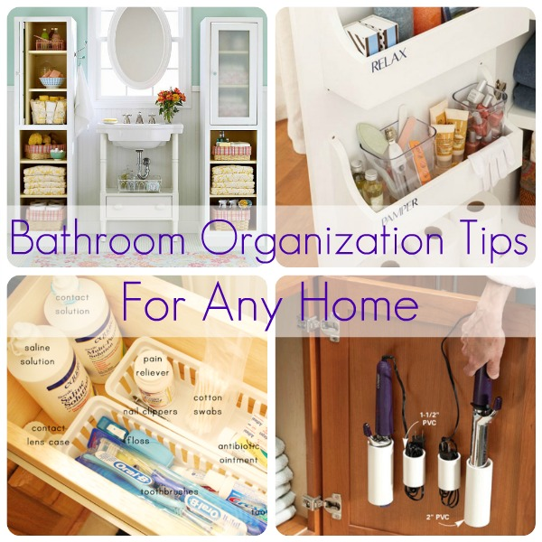 Organizing cleaning fashion oh my for Bathroom organization ideas