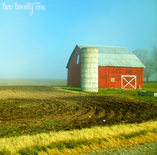 indiana red barn