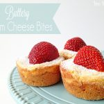 buttery cream cheese bites