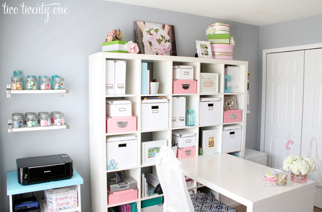 home office craft room ideas. office craft room ideas home makeover reveal two twenty one k