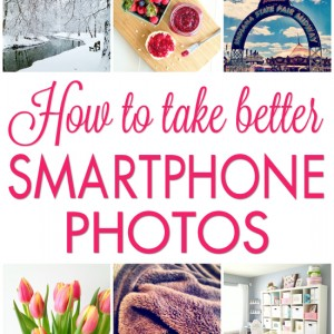 How to take better smartphone photos! Up your Instagram game!