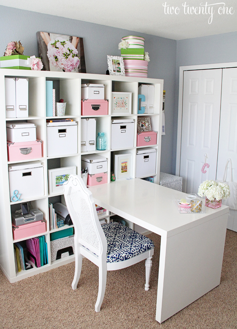 Home Office Makeover Reveal   Two Twenty One