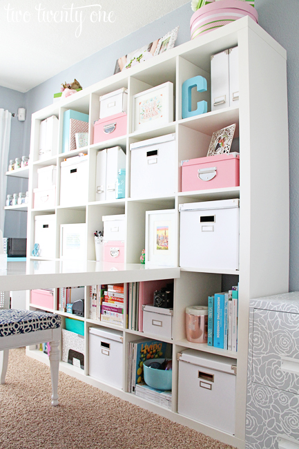 Ikea Expedit Home Office home office makeover reveal - two twenty one