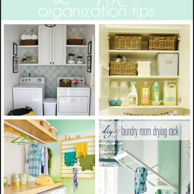 Organizing, Cleaning, & Fashion. Oh, my!