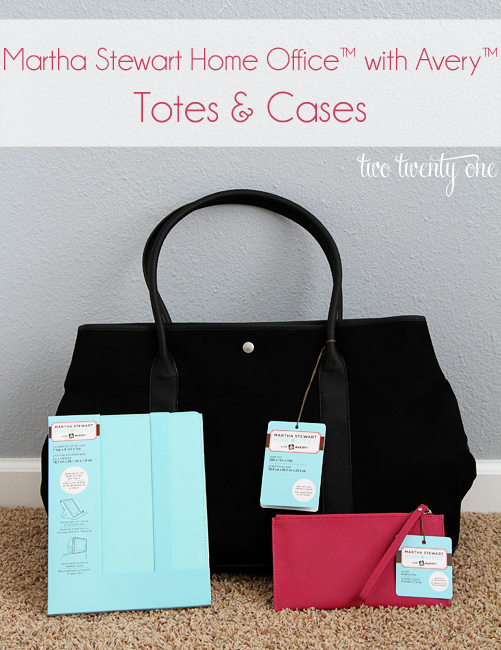 martha stewart home office with avery totes and cases