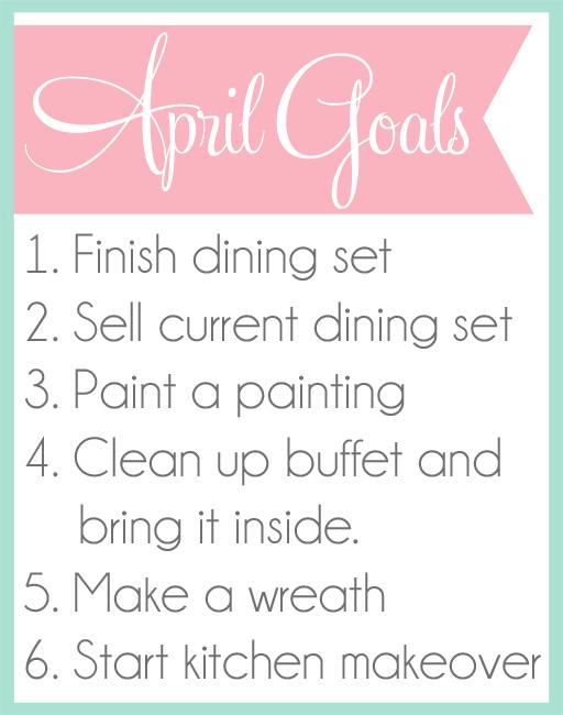ideas to clean garage - April Goals