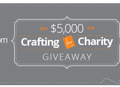 Crafting for Charity Contest + My Home Story