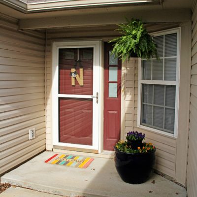 Brightening Up the Front Porch + $100 Visa Gift Card Giveaway