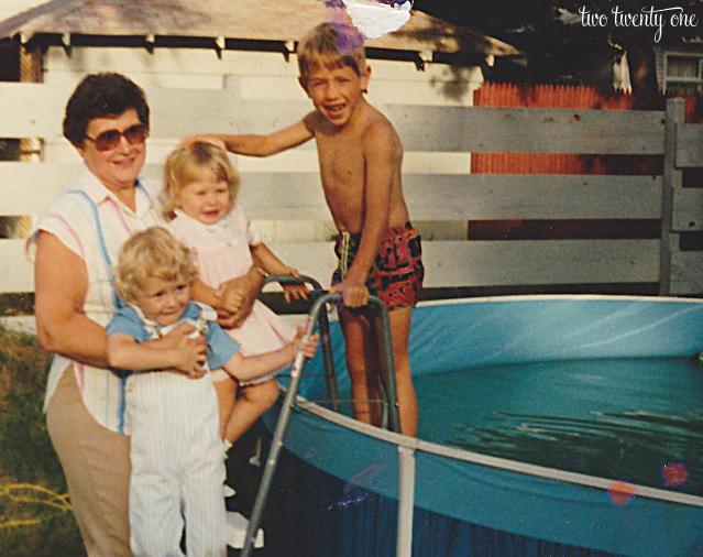 grandma june and kids