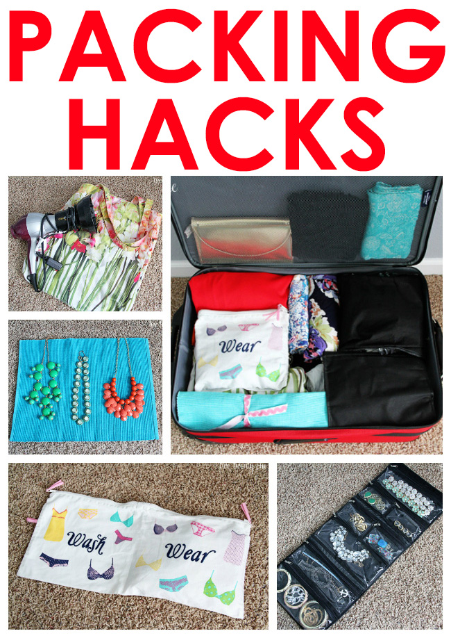 GREAT packing hacks!