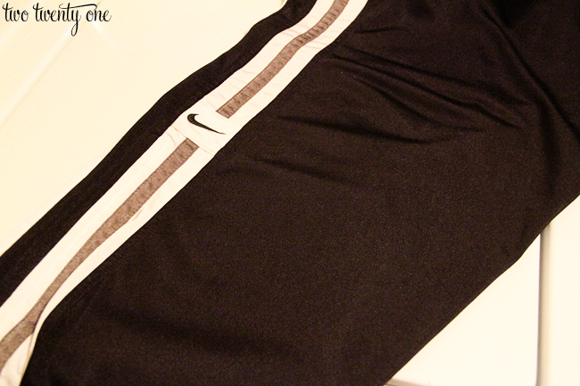 track pants after