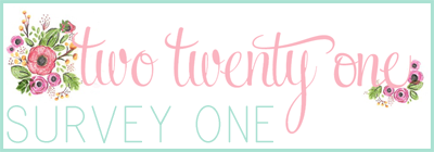 two twenty one-- survey one