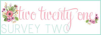 two twenty one-- survey two