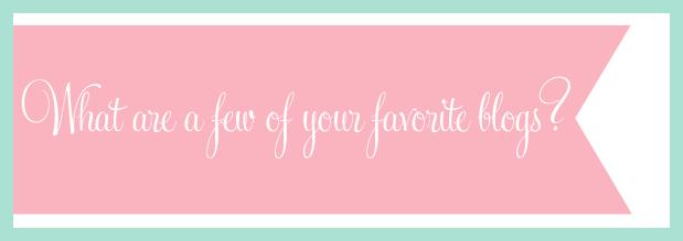 fave blogs