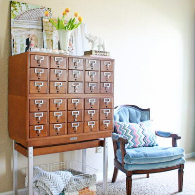 Card Catalog Styling