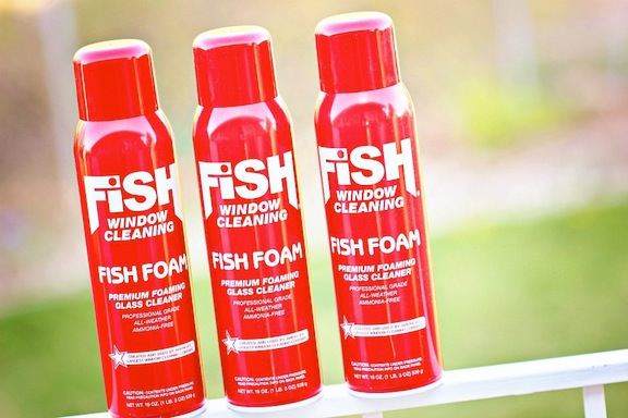 3 cans of Fish Foam