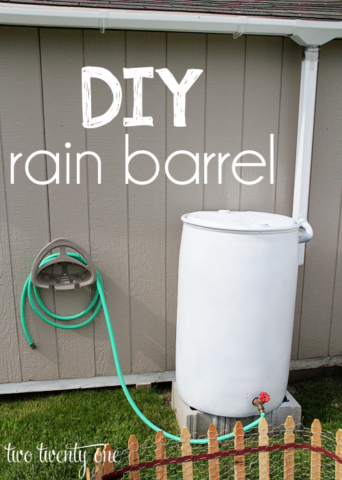 rain barrel how to harvesting rainwater