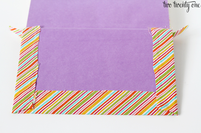 DIY fabric covered book instructions