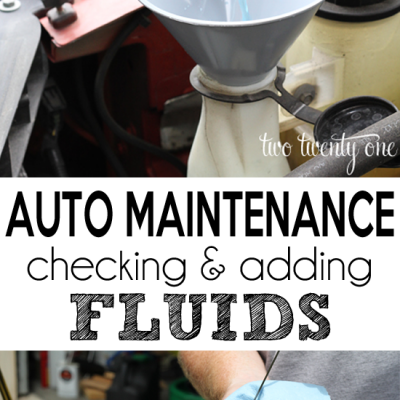 Car Series: Checking and Adding Fluids