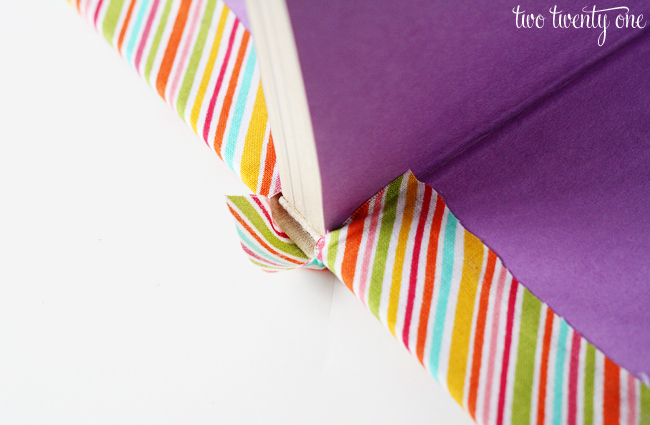 fabric book how to