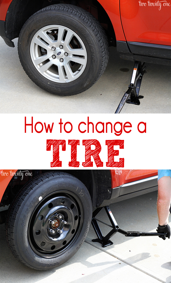 how to change the tire