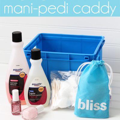 Organized Mani-Pedi Caddy