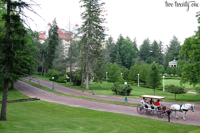 west baden grounds