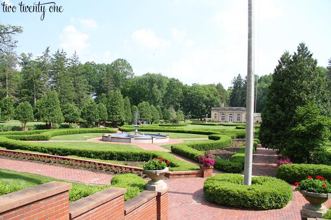 west baden spring hotel gardens