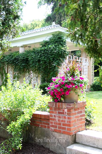 west baden springs hotel garden