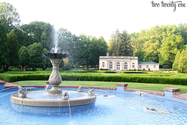 west baden springs hotel grounds
